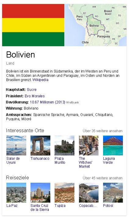 Bolivien generell
