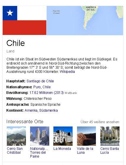 Chile generell