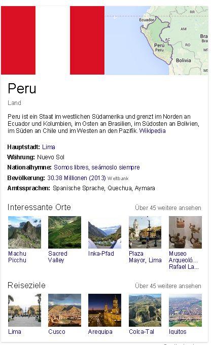 Peru generell