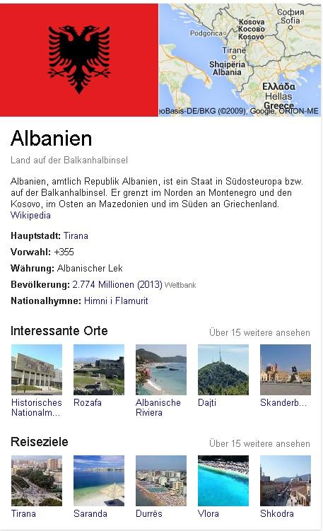 Albanien Wiki