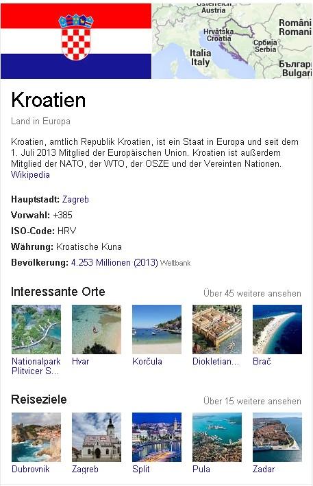 Kroatien Wiki