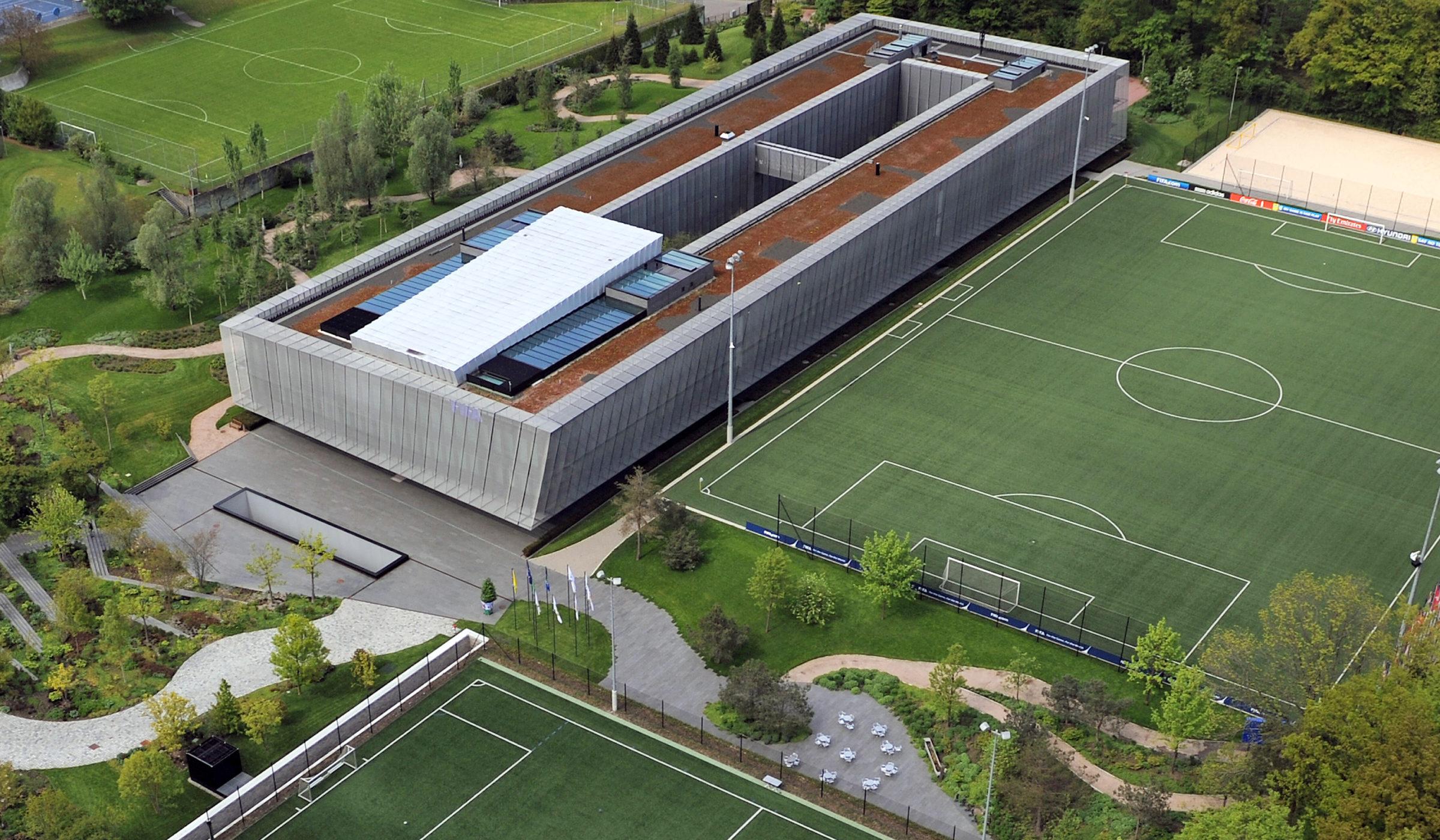 Zuerich, 18.5.2010. Sport, Fussball, Schweiz, SUI. Home of FIFA, FIFA Hauptquartier © foto-net / Kurt Schorrer